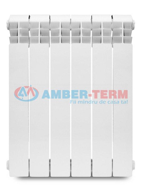 Radiator Bimetalic H500 550*80*80 (20AL1503) - Radiator din bimetal  /  AMBER-TERM