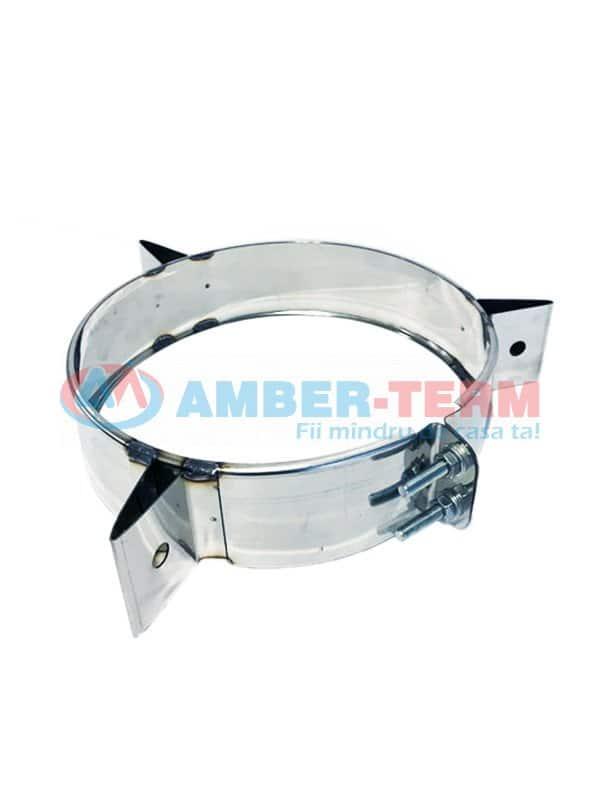 Inel de intindere inox d. 150 inox 304 - Coș pentru cazan combustibil solid  /  AMBER-TERM