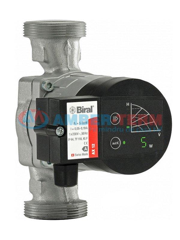 Pompa Biral AX 12-3(1158190150) - Pompă de circulație  /  AMBER-TERM