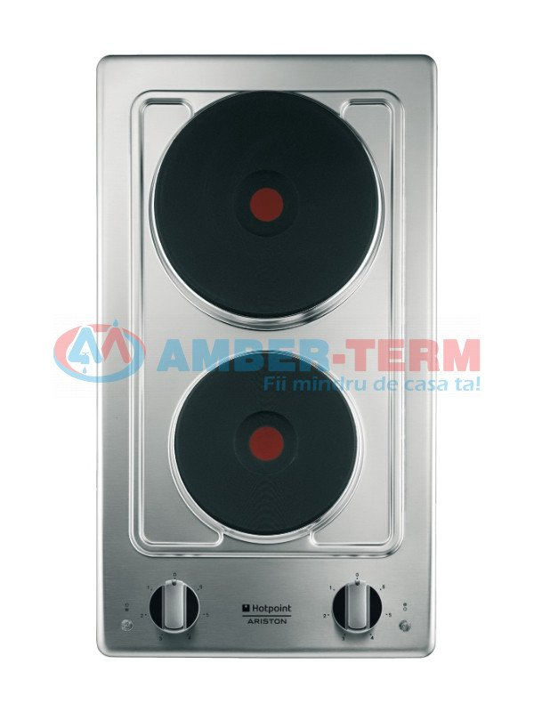 Plita electrica Ariston DK02(IX)/HA - Aragaz electric încorporabil  /  AMBER-TERM