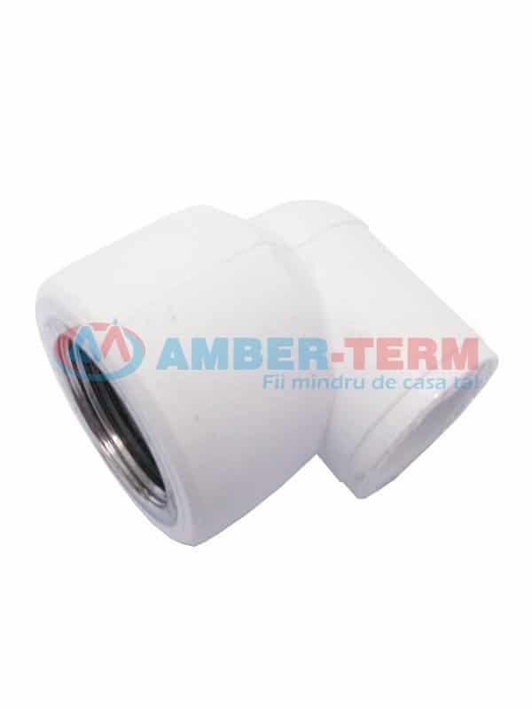 Cot 90 PN25 3/4 Fx20 - Cot  /  AMBER-TERM